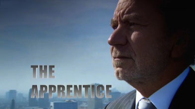 Picture of Alan Sugar with the Apprentice in text next to it.