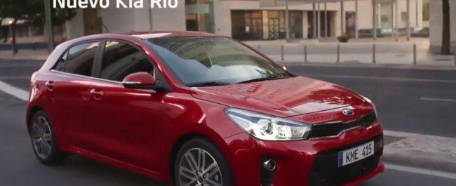 Picture of red Kia Rio