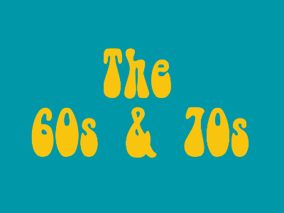 The 60s and 70s image